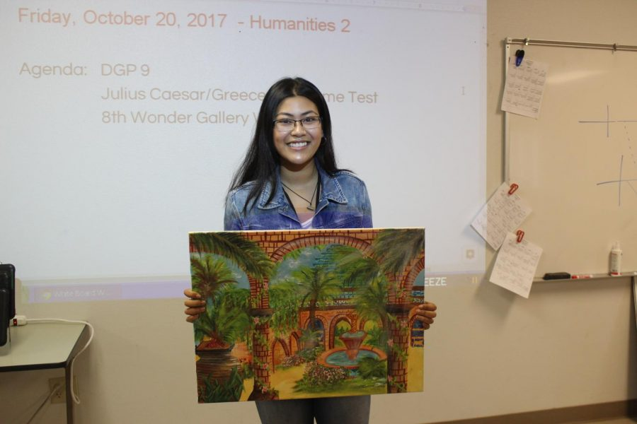 Humanities 2 creates historical art gallery