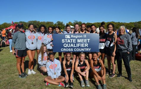 Cross Country Girls win Regionals and advance to State