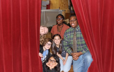 Theatre students attend performing arts competition