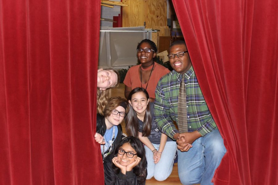 Students+who+participated+in+Van+Way-Off+Broadway+pose+for+a+celebratory+photo.+Top+row%3A+Sophomore+Lexus+Harrington%2C+freshman+Brooklyn+Hall+and+senior+Quavion+Hollins.+Second+row%3A+Sophomore+Jordan+%22Alex%22+Callaway+and+freshman+Rachel+Bowman.+Bottom+row%3A+Junior+Vanessa+Zarazua.