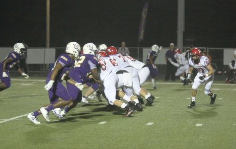 Varsity football plays Center, comes up short