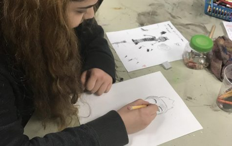 Art club begins unique project
