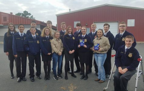 FFA students place at District LDE contest