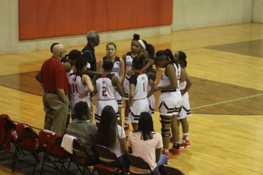 Girls Basketball dribbling up to first – The Mirror