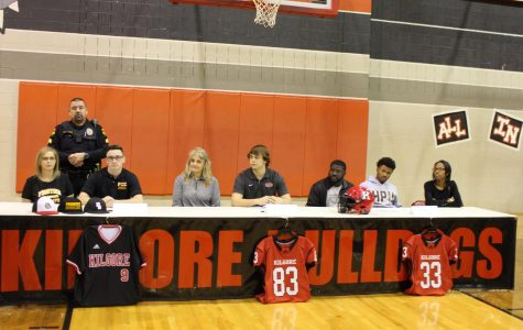 Student athletes sign on to colleges