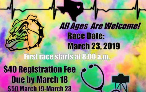 Health Science Club hosts Color Dash
