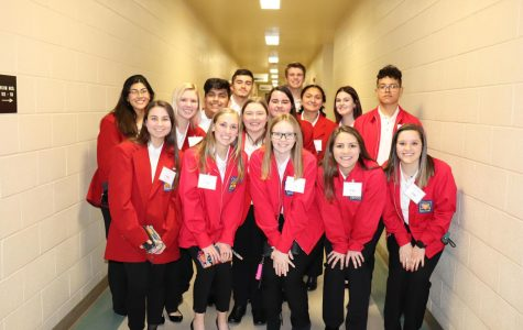 Health Science Skills team travels to Waco to compete in Skills, USA