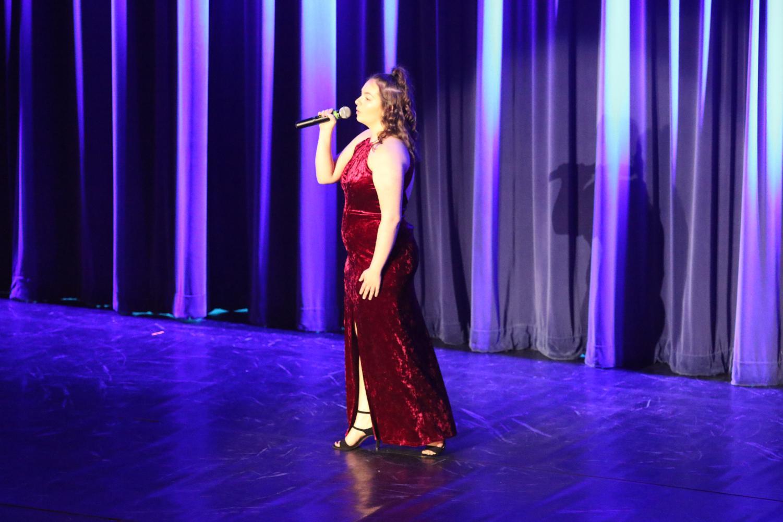 Paige sings