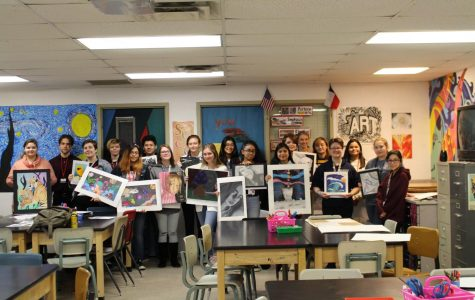 Art students participate in VASE UIL art competition