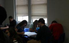 World History class talks about social media threats
