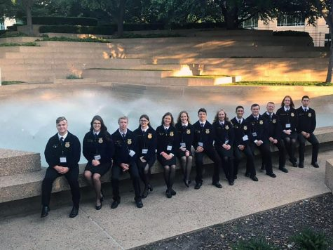 FFA travels to Fort Worth, Tx for State Convention