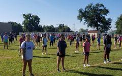 Marching band prepares for upcoming season