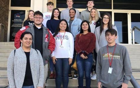 NHS members participate in 2019 academic rodeo